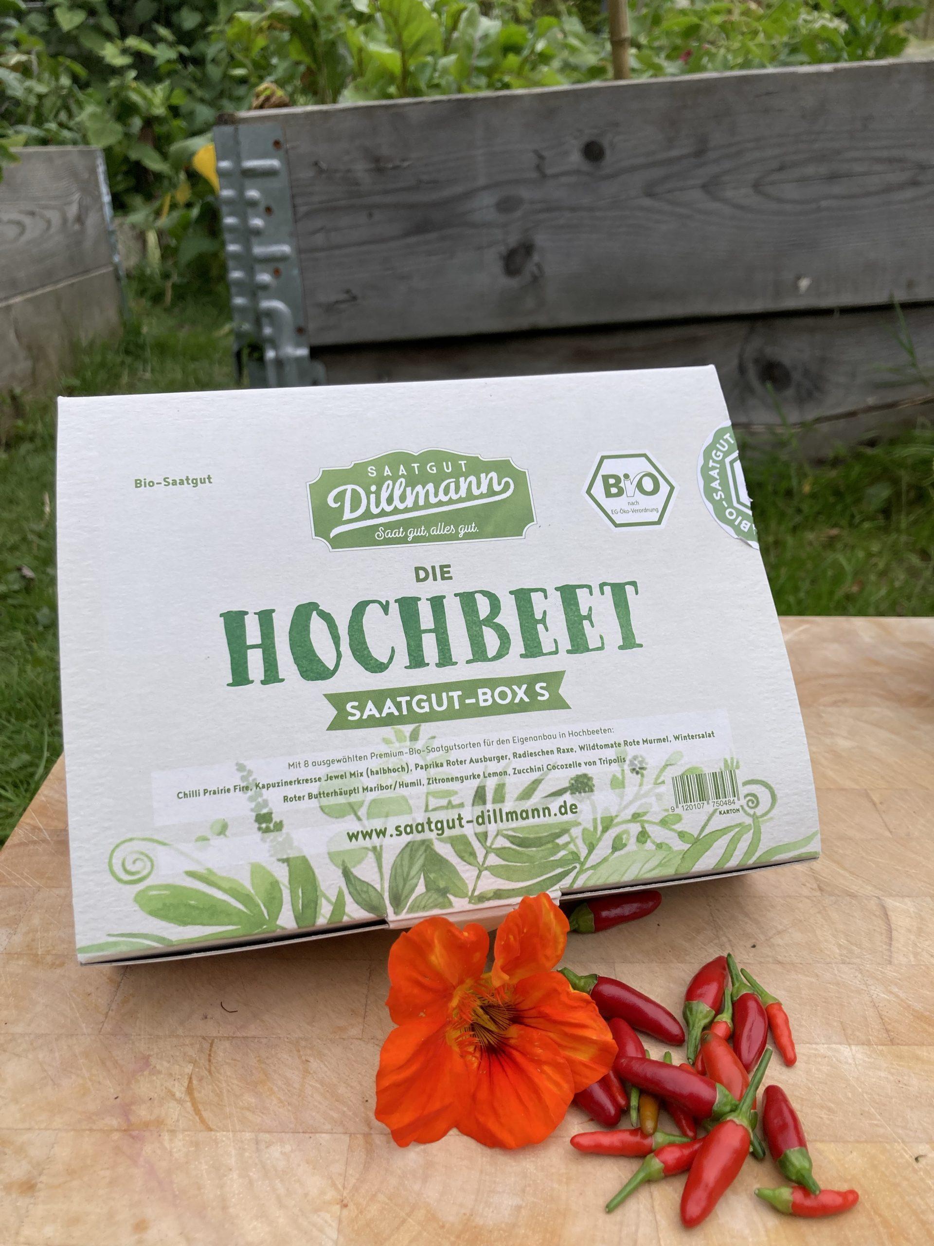 Satgutbox Hochbeet