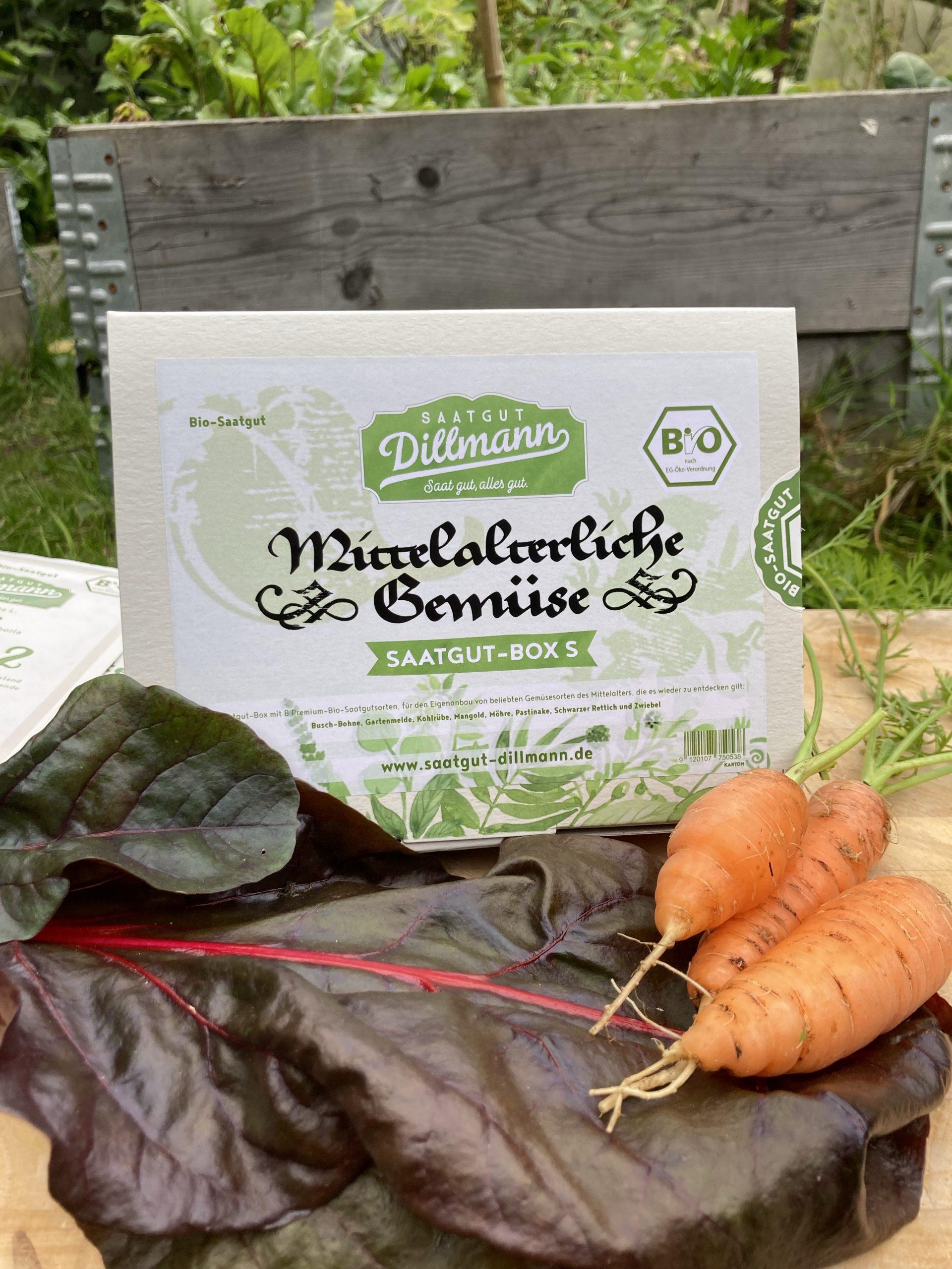 Saatgut Box Mittelalterliche Gemüse
